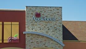 Περιστασιακό να δειπνήσει Applebee εστιατόριο Στοκ φωτογραφίες με δικαίωμα ελεύθερης χρήσης