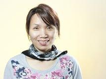 Περιστασιακό πορτρέτο της κορεατικής γυναίκας. Στοκ Φωτογραφίες
