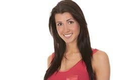 Περιστασιακό brunette Στοκ φωτογραφία με δικαίωμα ελεύθερης χρήσης