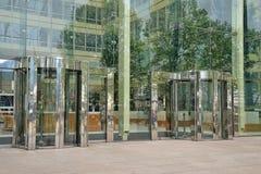 Περιστρεφόμενες πόρτες Στοκ Φωτογραφία
