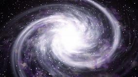 Περιστρεφόμενη σπειροειδής βαθιά εξερεύνηση του διαστήματος γαλαξιών Διαστημικό υπόβαθρο διανυσματική απεικόνιση