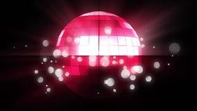 Περιστρεφόμενη σφαίρα disco απεικόνιση αποθεμάτων