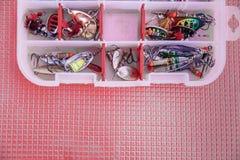 Περιστροφή εξοπλισμών αλιείας στοκ φωτογραφίες