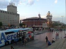 Περιστροφή, Καταλωνία, Βαρκελώνη Στοκ Φωτογραφία