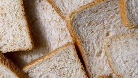 Περιστροφή ολόκληρου του ψωμιού σίτου, άμεσα ανωτέρω απόθεμα βίντεο