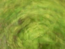 Περιστροφή πυροβοληθείς αφηρημένος πράσινος Στοκ Εικόνες