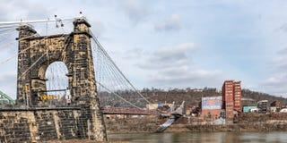 Περιστροφή της γέφυρας αναστολής στοκ εικόνες