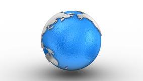 Περιστροφή της γης διανυσματική απεικόνιση