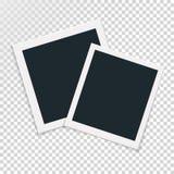 Περιστροφική έννοια του αναδρομικού πλαισίου φωτογραφιών Στοκ εικόνες με δικαίωμα ελεύθερης χρήσης