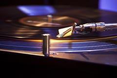 Περιστροφική πλάκα του DJ Στοκ Εικόνα