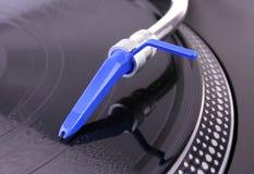 περιστροφική πλάκα του DJ Στοκ Φωτογραφίες