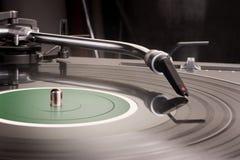 περιστροφική πλάκα του DJ s Στοκ εικόνες με δικαίωμα ελεύθερης χρήσης