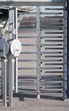 περιστροφική πύλη ασφάλε&iot Στοκ εικόνα με δικαίωμα ελεύθερης χρήσης