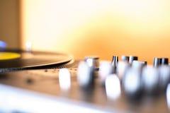 Περιστροφική πλάκα του DJ Στοκ Εικόνες