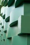 Περιτοιχισμένο Curvy εξωτερικό οικοδόμησης Στοκ Εικόνα