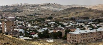 Περιφέρεια άποψης Jerevan, η πρωτεύουσα της Αρμενίας στοκ εικόνα