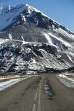Περιφερειακή οδός στην Ισλανδία Στοκ Εικόνες