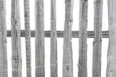 περιφράξτε τους θερινούς ηλίανθους λιβαδιών ξύλινους Στοκ Εικόνες