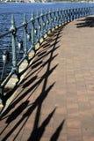 περιφραγμένο μονοπάτι Στοκ φωτογραφία με δικαίωμα ελεύθερης χρήσης