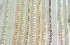 Περιδέραια μαργαριταριών Στοκ Εικόνα