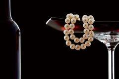 Περιδέραιο μαργαριταριών Στοκ εικόνες με δικαίωμα ελεύθερης χρήσης
