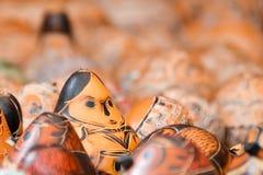 Περουβιανές ξύλινες κούκλες στοκ εικόνες