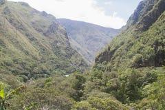 Περουβιανές ορεινές περιοχές Στοκ φωτογραφία με δικαίωμα ελεύθερης χρήσης