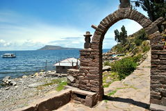 Περουβιανή αψίδα Στοκ φωτογραφία με δικαίωμα ελεύθερης χρήσης
