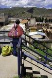 περουβιανή γυναίκα cuzco cityrama Στοκ Φωτογραφία