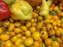 Περουβιανό κίτρινο πιπέρι Στοκ Εικόνες