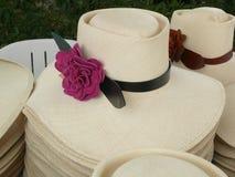 Περουβιανό καπέλο αλόγων Paso γυναικών Στοκ Φωτογραφία