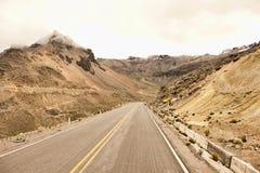 Περουβιανό οδόστρωμα Στοκ Φωτογραφίες