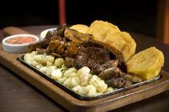 Περουβιανό πιάτο Στοκ Εικόνες