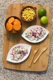 Περουβιανό Ceviche Στοκ Εικόνες