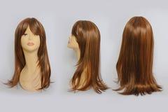 Περούκα τρίχας Στοκ εικόνα με δικαίωμα ελεύθερης χρήσης