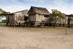 Περού, περουβιανό τοπίο Amazonas. Το παρόν φωτογραφιών χαρακτηριστικό μέσα στοκ φωτογραφία