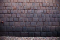 Περού, τοίχος Inca Στοκ Φωτογραφίες
