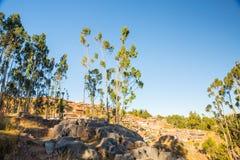 Περού, Qenko, που βρίσκεται στο αρχαιολογικό πάρκο Saqsaywaman. Νότια Αμερική. Στοκ φωτογραφίες με δικαίωμα ελεύθερης χρήσης