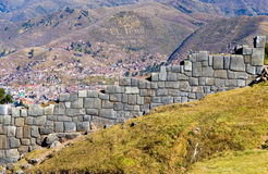 Περού sacsayhuaman στοκ φωτογραφίες
