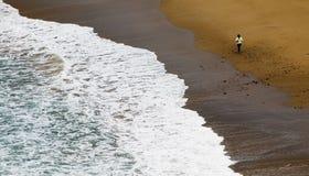 περπάτημα άμμου Στοκ Εικόνες