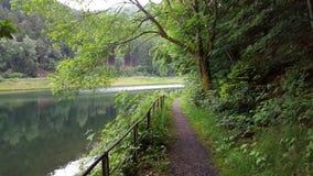 Περπάτημα δίπλα στο νερό Στοκ Εικόνες