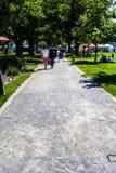 περπάτημα επαρχίας Στοκ εικόνες με δικαίωμα ελεύθερης χρήσης