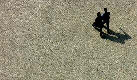περπάτημα ζευγών Στοκ Εικόνα