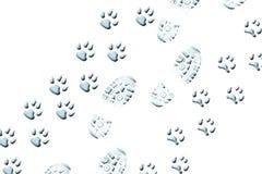 περπάτημα ζώων Στοκ εικόνα με δικαίωμα ελεύθερης χρήσης