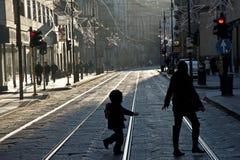 περπάτημα ημέρας των Χριστο στοκ φωτογραφίες με δικαίωμα ελεύθερης χρήσης