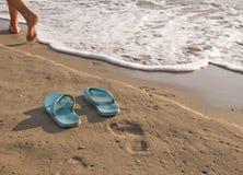 περπάτημα θάλασσας Στοκ Εικόνες