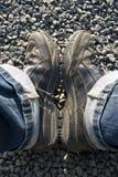 περπάτημα μποτών Στοκ φωτογραφία με δικαίωμα ελεύθερης χρήσης