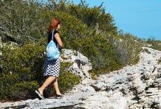 περπάτημα νησιών Στοκ Εικόνες