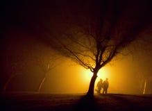 περπάτημα ομίχλης Στοκ φωτογραφία με δικαίωμα ελεύθερης χρήσης