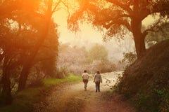 περπάτημα πάρκων Στοκ εικόνα με δικαίωμα ελεύθερης χρήσης